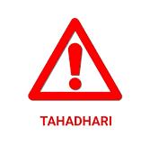 TAHADHARI UPATU HARAMU